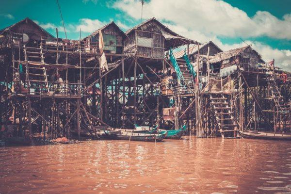 Kompong Phluk Floating Village, Cambobodia