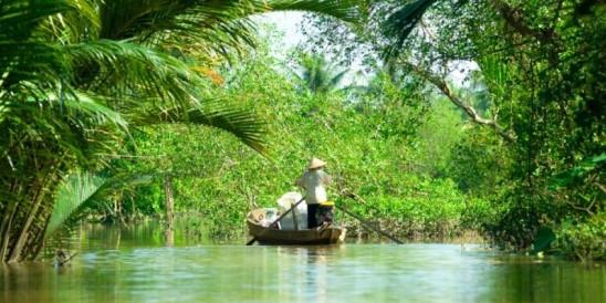 Mekong Delta Mytho, Vietnam