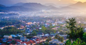 Luang Prabang city, Laos