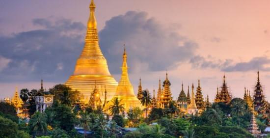 Swedagon golden temple, Myanmar