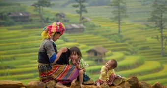 Hill Tribe in Sapa, Vietnam
