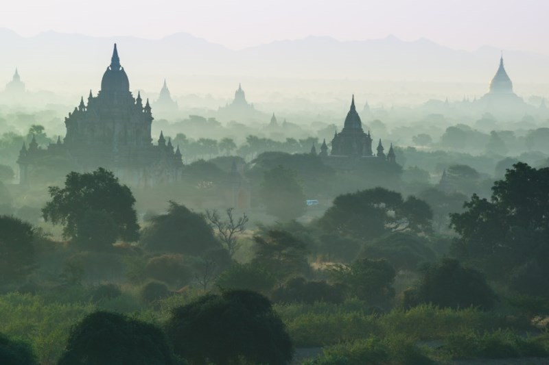 Thousands temples of Bagan, Myanmar