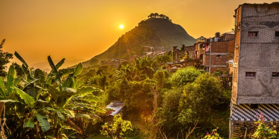 Bandipur-Village-Sunset