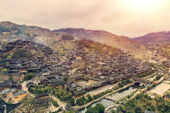 Miao Hill Tribe Village